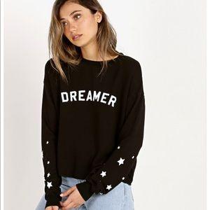 Spiritual Gangster 🌸 Dreamer Star Crop Sweatshirt